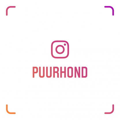 name-tag Puur Hond instagram