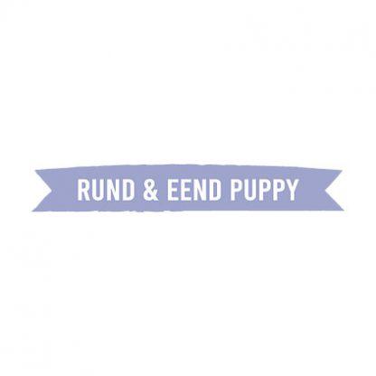 Kivo rund en eend puppy